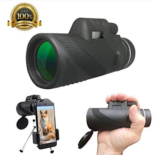 LLVV Monoculares Monocular 10 * 50 potentes prismáticos Zoom Gran telescopio portátil LLL visión Nocturna Militar HD Profesional Caza