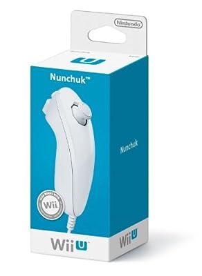 Nintendo Wii U Nunchuk - White (Nintendo Wii U)