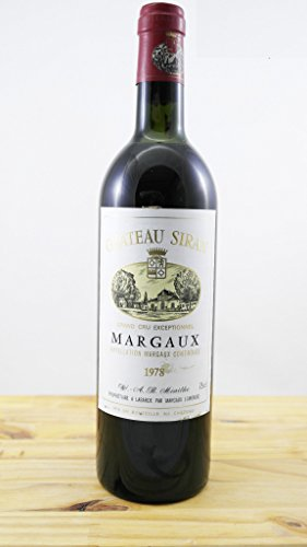 Wein Jahrgang 1978 Château Siran ELA - OccasionVin