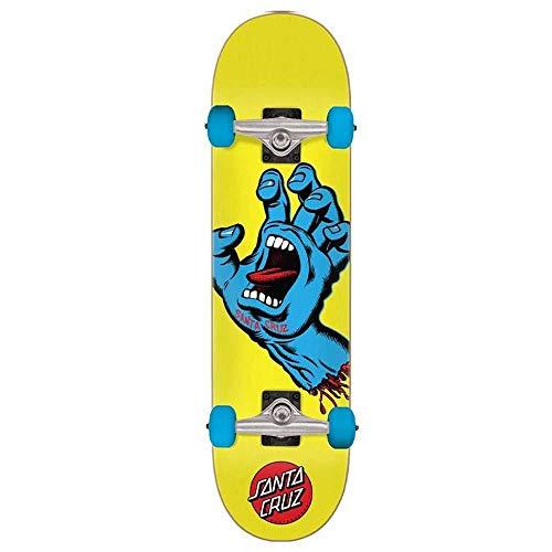 Santa Cruz Factory Complete Skateboard Screaming Hand Multi 7.75'