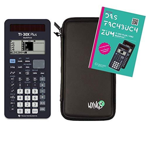 TI-30X Plus MathPrint + Schutztasche + Fachbuch