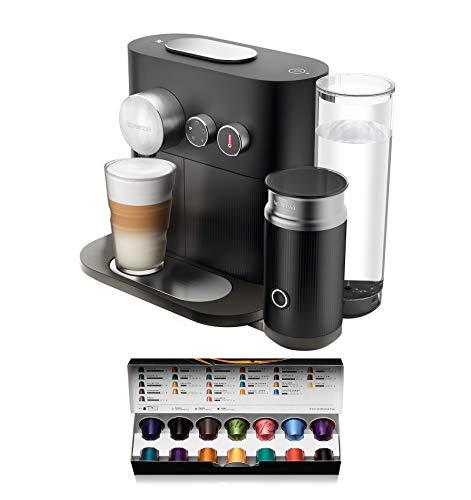 Krups Nespresso Expert und Milk XN6018 Kaffeekapselmaschine (mit Aeroccino3 und Bluetoth, 19 bar) schwarz
