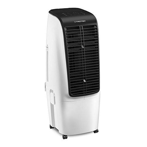 TROTEC PAE 51 Aircooler, mobiles 4 in 1 Klimagerät, Luftkühler, Ventilator, Lufterfrischer und Luftbefeuchter (4 Gebläsestufen, Timer, Nacht-Modus uvm.)