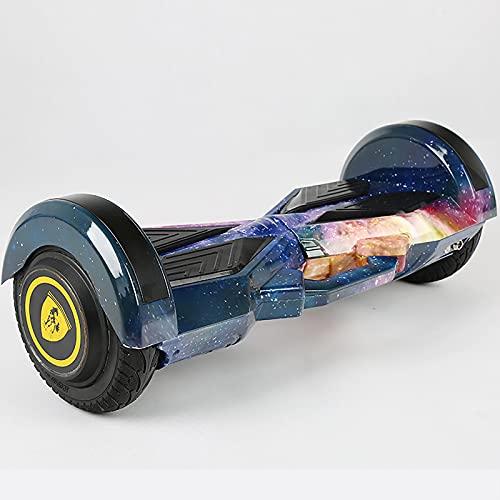 Hoverboard Self Balancing Patinete Inteligente Elétrico Scooter de Dos Ruedas para Adultos y niños de 8 Pulgadas,Blue