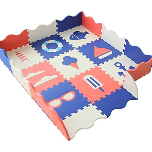 GFFTYX Bébé décoration Chambre Kids Play Mat Multi-Couleurs Tapis Casse-tête en Mousse Sol Safe Tapis de Jeu for bébé en Mousse Tapis de Jeu Idéal pour Les Enfants pour Apprendre et Jouer
