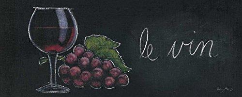 Feeling at Home LEINWANDDRUCKE-Bild-MIT-Rahmen.cm_36_X_91-Adams-Emily-Küche-Kunstdruck-auf-Gerahmte-Leinwand-Essen-Frankreich-Französisch-G