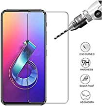 for Asus Zenfone 6 ZS630KL Premium Screen Protector Tempered Glass, [2PACK] 2.5D 9H Hardness Ultra Clear Screen Protective Film Glass for Asus Zenfone 6 ZS630KL