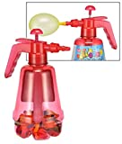 HI Ballon Pumpe 1,7 Liter mit 100 bunten Wasserballons Wasserbomben 66024
