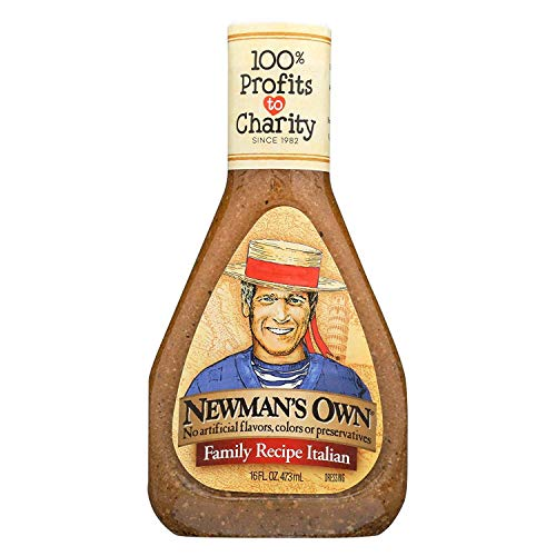 Newman's Own Family Recipe Italian Salad Dressing 16 oz (Pack of 6)