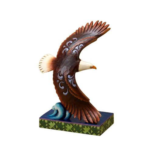 Enesco Jim Shore Heartwood Creek Eagle Figurine, 6-3/4-Inch