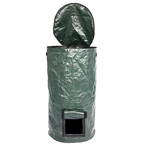 Buy Bargain LianX Reusable Garden Waste Bags Reuseable Garden Leaf Waste Can Yard Compost Bin for Fr...