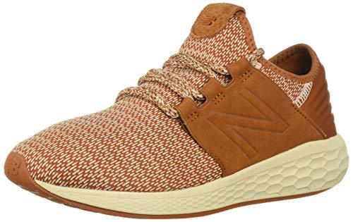 New Balance Men's Cruz V2 Fresh Foam Running Shoe, canyon/hemp/faded birch, 12 2E US
