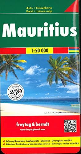Mauritius, Autokarte 1:50.000: Toeristische wegenkaart 1:50 000 (freytag & berndt Auto + Freizeitkarten)