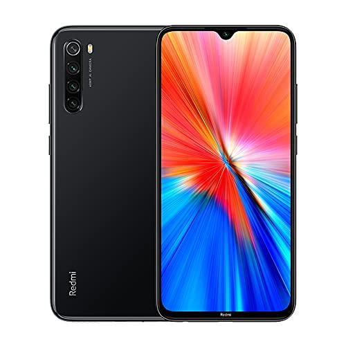 Xiaomi Redmi Note 8 2021 Smartphone,4GB RAM+64GB ROM,display FHD+ Dot Drop da 6,3 pollici,MediaTek Helio G85 Octa-Core,fotocamera quad AI da 48 MP e fotocamera frontale da 13 MP (Nero)