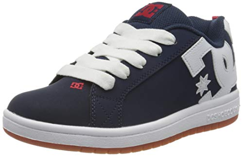 DC Shoes Court Graffik - Leather Shoes for Kids - Schuhe - Jungen