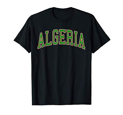 Algeria Sport And Sightseeing Maglietta
