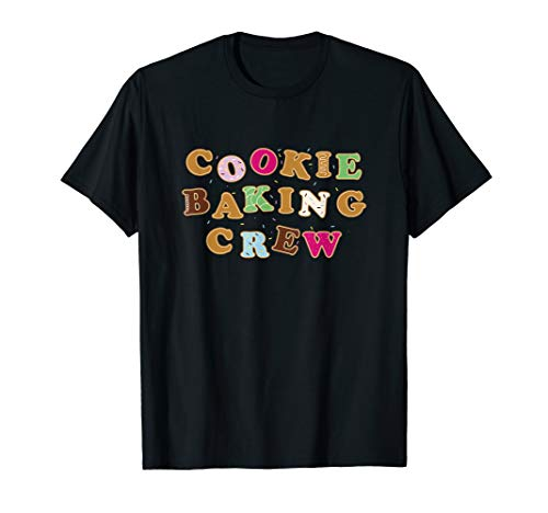 Cookie Baking Crew | Kinder Kekse Backen Weihnachs Plätzchen T-Shirt