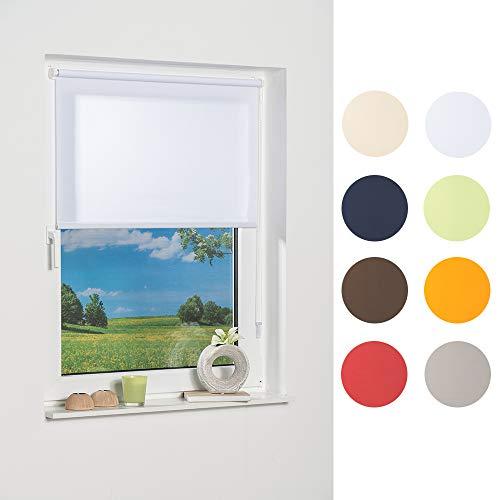 K-home Klemmfix-Minirollo, Weiß Tageslicht 40 x 150 (B x L)