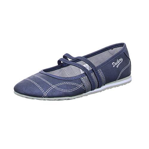 Dockers by Gerli Damen 40BE216 Sneaker, Navy, 36 EU