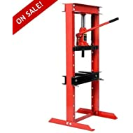 Hydraulic Jack Shop Press Floor Adjustable Heavy Duty Excellent Bending Stand 12 Ton Equipment...
