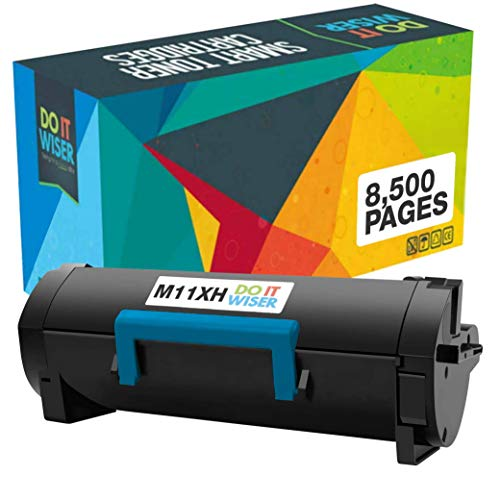 Do it Wiser Compatible Toner Cartridge Replacement for Dell M11XH B2360dn B3460dn B2360d B3465dn B3465dnf Printer - 331-9805 (8,500 Pages High Yield, Black)