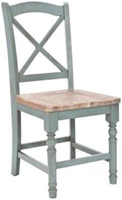 Amazon.com - Luxury Dining Chair Set of 4 Dining Set White ...