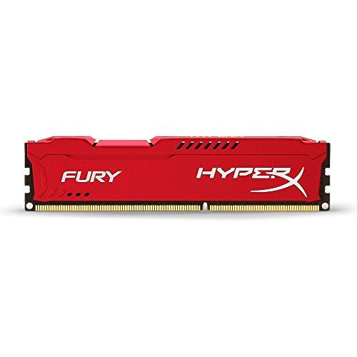 HyperX HX318C10FR/4 Fury Rot 4GB 1866MHz DDR3 CL10 DIMM