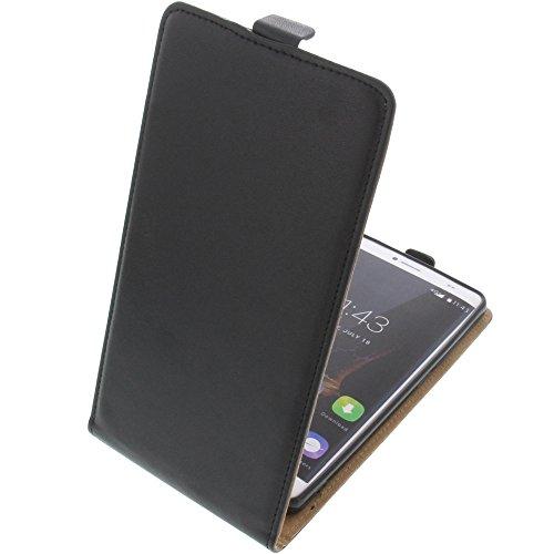 foto-kontor Tasche für Bluboo Maya Max Smartphone Flipstyle Schutz Hülle schwarz