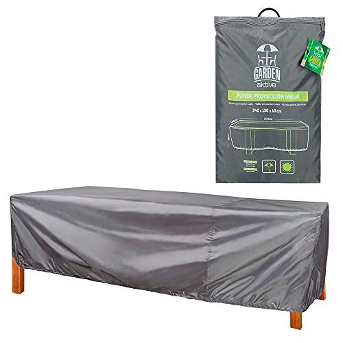 AKTIVE 61502 - Funda protectora para mesa de jardín 240x130x60 cm AKTIVE garden