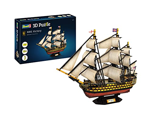 Revell- velero HMS Victory, Longitud 57,0cm 3D Puzzle, Multicolor (00171)