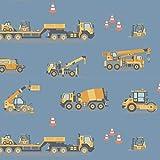 Schickliesel Jersey Stoff Meterware ab 50cm Fahrzeuge