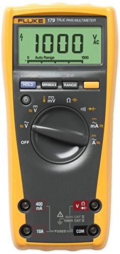 Fluke - Multimeter Digital 179 Trms Ac 6000 Digits 1000 Vac 1000 Vdc 10 Adc