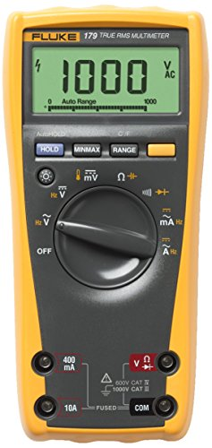 Fluke 179 ESFP True RMS Multimeter- best fluke for industrial electrician