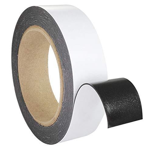 Schaumklebeband schwarz doppelseitig   5 m auf Rolle   Für fast alle Untergründe   Breite wählbar / 12 mm x 5 m