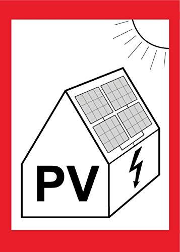 PV-Aufkleber 10er Pack/AKTION!