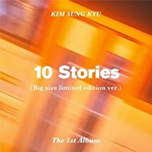 Infinite Kim Sung Kyu - [10 Stories] 1st Album Limited CD+60p Booklet+3p Special Poster(On-Pack)+1p PhotoCard+1P Film Bookmark K-POP Sealed