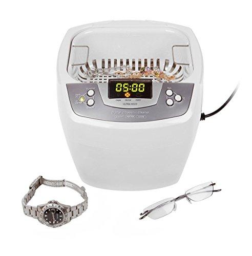 James Products Ultra 8020-H, Profi Ultraschallreiniger 2 Liter Tank mit Heizung und Degas-Funktion, neustes 2012er Modell