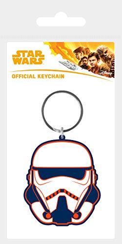 Star Wars Solo: A Story - Trooper, Schlüsselanhänger aus Gummi, 4.5 x 6 cm