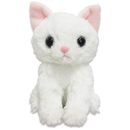 いっしょがいいね猫 ぬいぐるみ 白猫