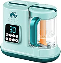 Baby Food Maker, Baby Food Processor Blender and Steamer, Multi-Function Baby Food Grinder Mills Machine, Auto Cooking, Fast Heat & Self-Cleaning Water Tank, Make Healthy Puree Food for Babies