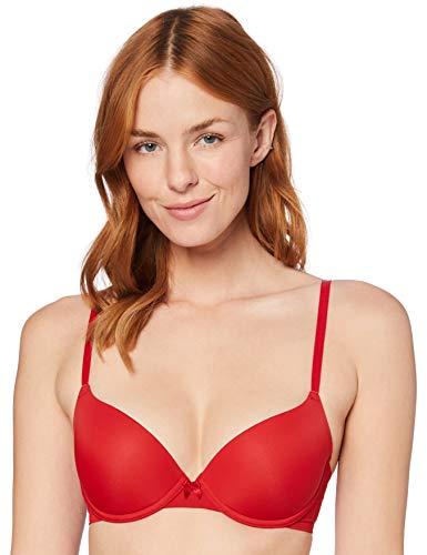 Amazon-Marke: Iris & Lilly Damen Push-Up bh BLIC004, Rot (Scarlet Sag, 95B (Label: 36B)