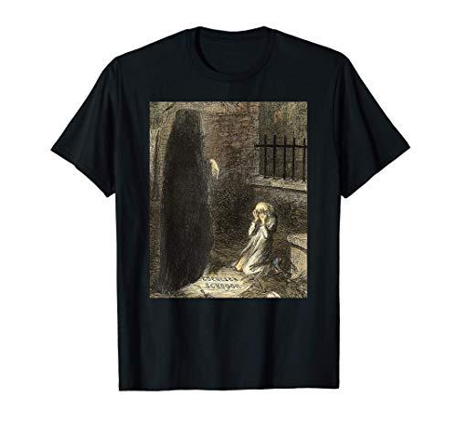 Christmas Future Charles Dickens Un cuento de Navidad Camiseta