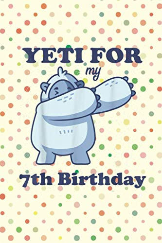 Getting Things Done Planner Yeti for my 7th Birthday Funny Sixth Bday Quote Dabbing Meme