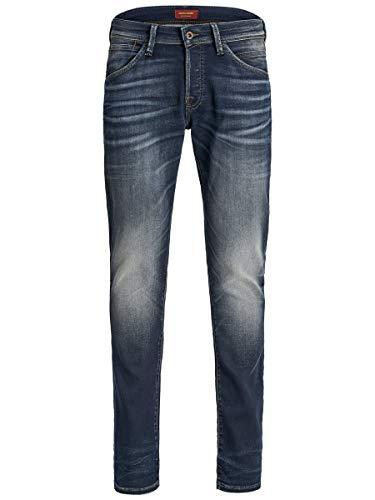 JACK & JONES Herren Jjiglenn Jjfox Jj 240 I.k Jeans, Blue Denim, 28W 32L EU