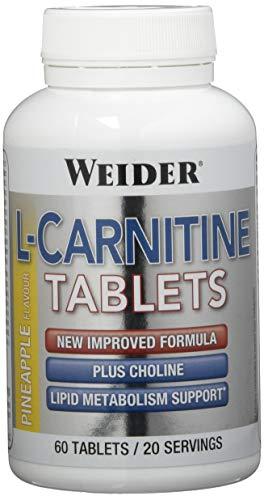 Weider L-Carnitin-Tabletten, Ananas - 60 Tabletten