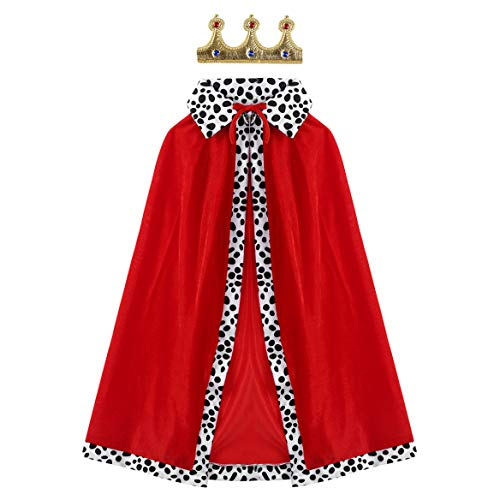 Moggemol Kids Prince Outfits Regal King/Queen...