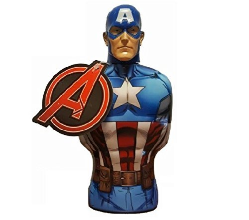 Avengers - Marvel Captain America Shower Gel, 1er Pack (1 x 385 ml)
