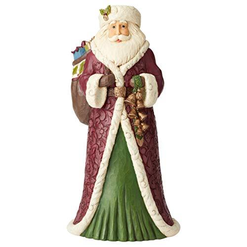 Jim Shore Heartwood Creek Statua di Babbo Natale Vittoriano, 50 cm