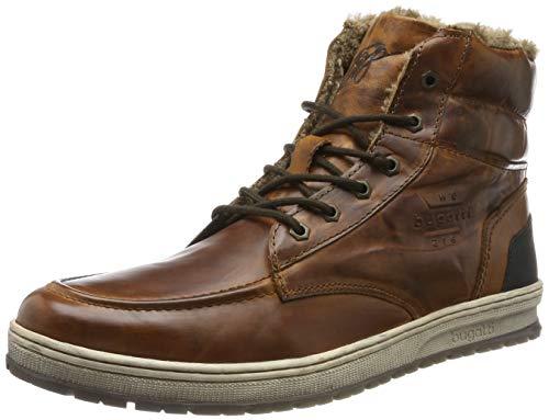 bugatti Herren 321334591200 Hohe Sneaker, Braun, 44 EU