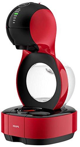 Krups KP130540 Lumio - Cafetera automática, color rojo